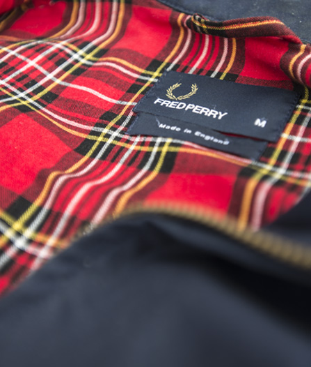 comment porter Harrington fred Perry